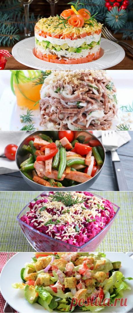 Самые вкусные салаты для домашнего и банкетного меню - БУДЕТ ВКУСНО! - медиаплатформа МирТесен