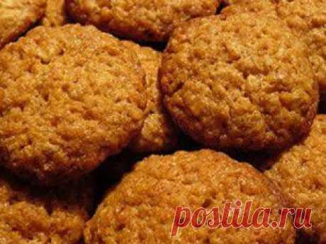 Овсяное печенье за 10 минут!!!.