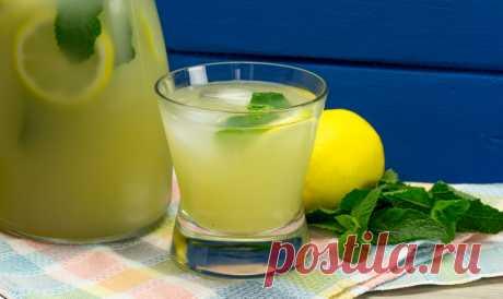 Освежающий мятно-лимонный лимонад
