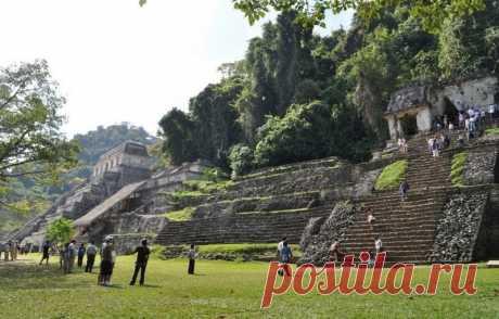 Паленке - затерянный в джунглях город майя