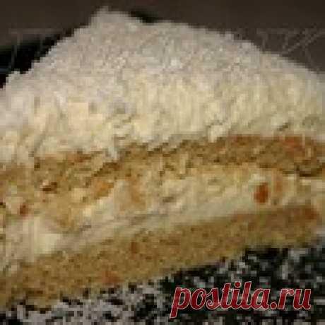 """Торт """"Зимняя сказка"""" Кулинарный рецепт"""