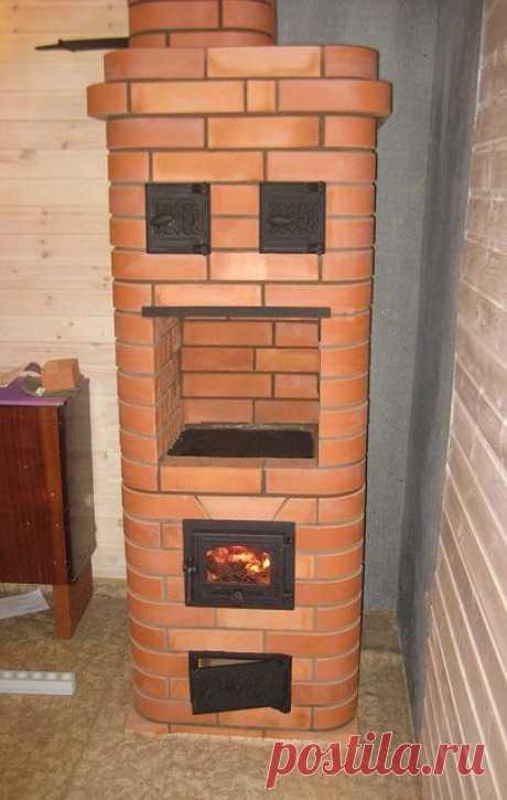 Los hornos de leña para la calefacción de la casa privada - una variedad de las variantes