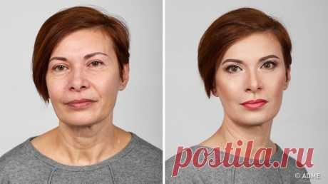 7 хитростей от визажиста, которые помогут выглядеть моложе   Едвали найдется такая женщина, которой нехотелосьбы оставаться молодой ипривлекательной как можно дольше. Номорщинки ипрочие изменения вовсе неозначают, что красота осталась впрошлом. Мыуве…