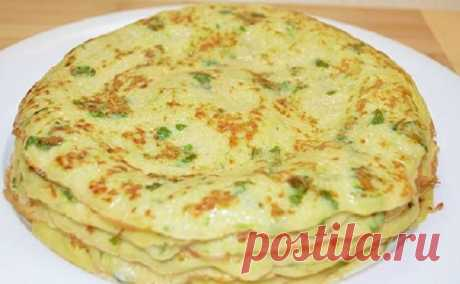 Pancakes from vegetable marrows