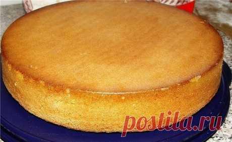 Как приготовить бисквит, который получается всегда! - рецепт, ингредиенты и фотографии