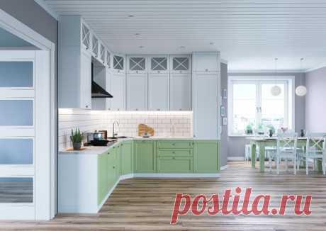 Палермо - прямые линии и текстура массива ясеня, приглушенные тона, сочетание черт классики и минимализма задают характер данного гарнитура. Белый тон является неизменным в интерьере кухонь в скандинавском стиле. Зеленый цвет фасадов создает состояние спокойствия и безмятежности, домашнего уюта и стабильности.  Какой цвет кухни вам больше нравится? Напишите в комментариях.  Ставьте  если вам нравится данная модель.  www.spbharmony.ru  #интерьеркухни #кухни #кухниназаказ #к...