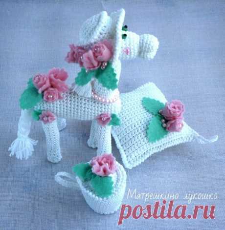 Матрешкино лукошко: лошадка