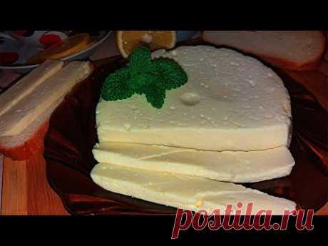 СЫР ИЗ КЕФИРА! САМЫЙ БЫСТРЫЙ РЕЦЕПТ! 酸奶奶酪!  最快捷的食譜!