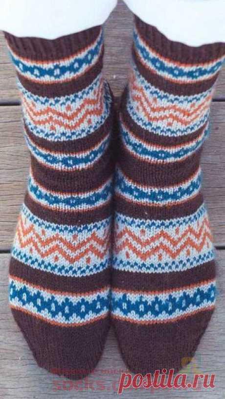 Fair isle Kingstown socks   KNITTED SOCKS