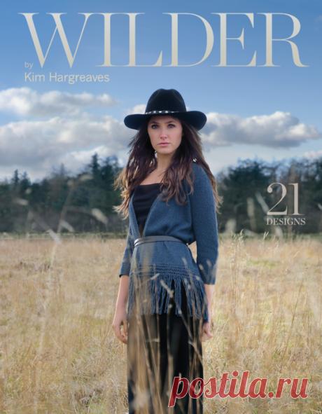 Новая книга Wilder by Kim Hargreaves (только фото, без описаний).