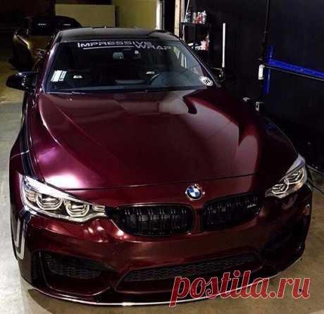 Божественный цвет. BMW M4 F82