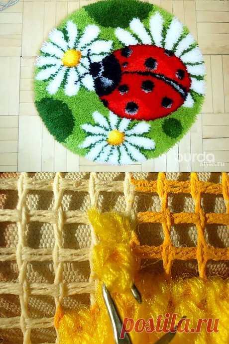 Вышивка в ковровой технике - Рукоделие - Мастер-классы - Burdastyle: