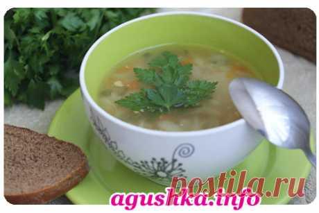 Вкусный гороховый суп-классический рецепт с подробными фото.