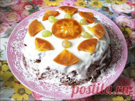Торт-пятиминутка в микроволновке