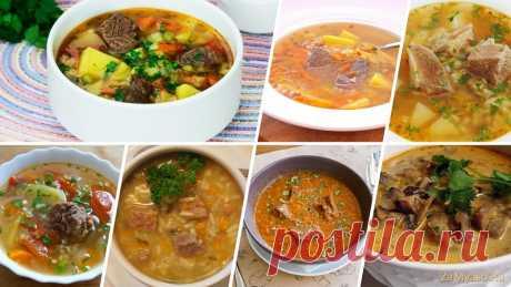 Суп из говядины — самый вкусный рецепт