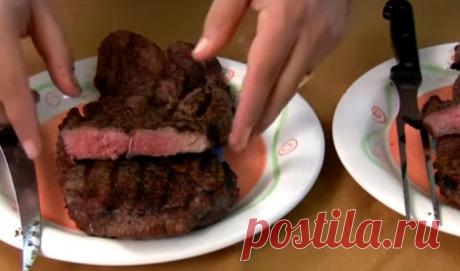 Даже самое жесткое мясо по вкусу будет напоминать нежную ягнятину. Невероятно крутой лайфхак... Если вы купили жесткое мясо, не отчаивайтесь, его можно очень просто размягчить. Для этого существует множество способов. К примеру, в племени масаев кусок говядины кладут в муравейник. Муравьиная кис…