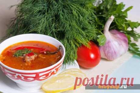 Грузинский суп-харчо - пошаговый классический рецепт с фото