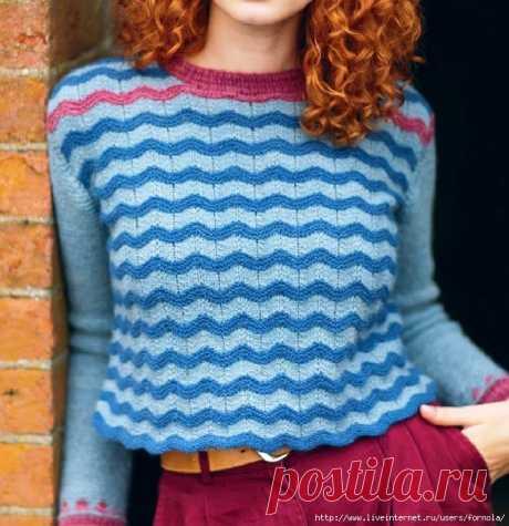 пуловер Vellamo от Francesca Hughes (без перевода)