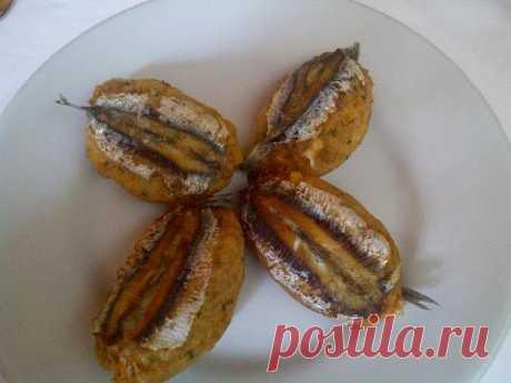 Рецепт Начиненные филе анчоусов, запеченные в духовке (Alici ripiene al forno) – Рецепты итальянской кухни