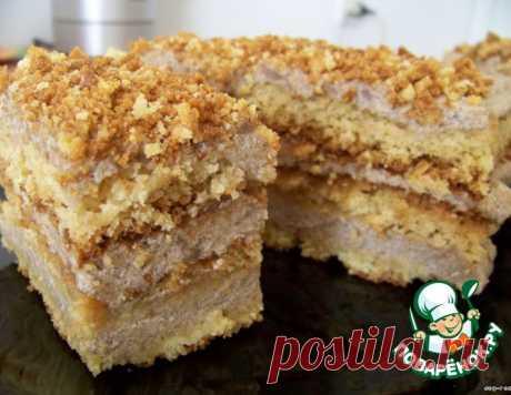 Лимонно-кофейный торт «Почемучка Любовь» – кулинарный рецепт