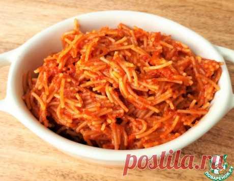 Тушёная вермишель – кулинарный рецепт