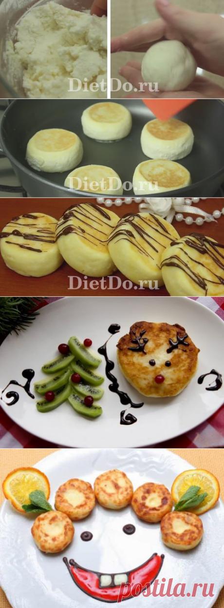 ТОП-10 пп сырники из творога на сковороде: рецепты
