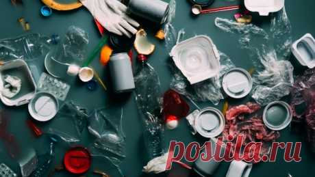 Una selección de artesanías hechas de residuos plásticos: la vida en el planeta