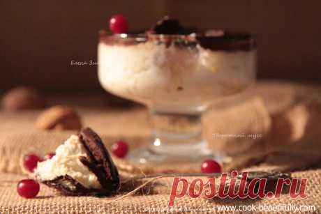Cottage cheese mousse.