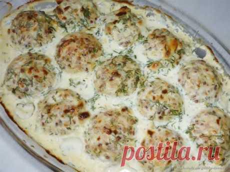 Легкие тефтели с начинкой и вкусным соусом | Кулинарные Рецепты