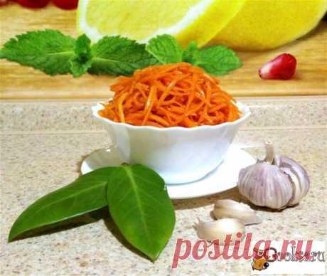 Корейская морковь по-домашнему Очень люблю корейские салатики, по этому хочу предложить Вашему вниманию корейскую морковь по-домашнему. Остроту и вкус можно варьировать по своему вкусу.
