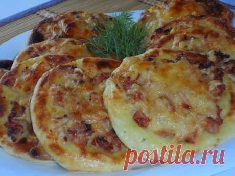 Оригинальные картофельные ватрушки с курицей: Вкусно и очень просто