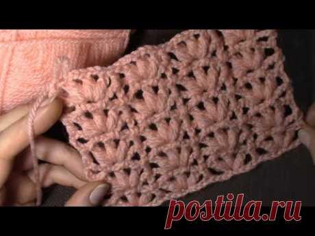 Узор пышный для пуловера, рекомендую начинающим