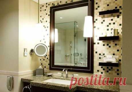 Выбор и установка светильников для ванной комнаты - параметры и критерии выбора