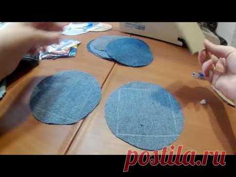 Лоскутное шитьё  старые джинсы в дело