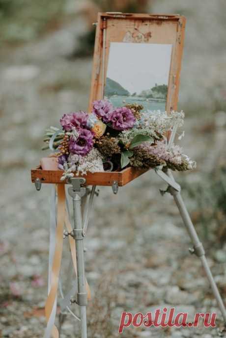 Посмотрите, какой волшебной может быть творческая свадьба для двоих в окружении дикой природы! 😍