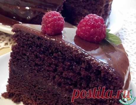 Шоколадный торт на раз-два-три – кулинарный рецепт