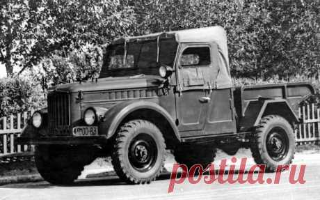 Ретротест знаменитого «козлика» ГАЗ-69: на нем ездили Анискин и Мухтар