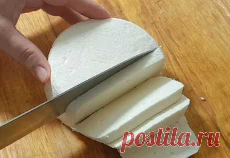 Домашний сыр из 3-х ингредиентов: Просто и вкусно - Вкусные рецепты - медиаплатформа МирТесен