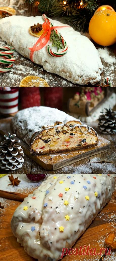 ШТОЛЛЕН - классические рецепты немецкого рождественского кекса
