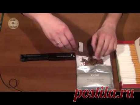 Изготовление сигарет самостоятельно