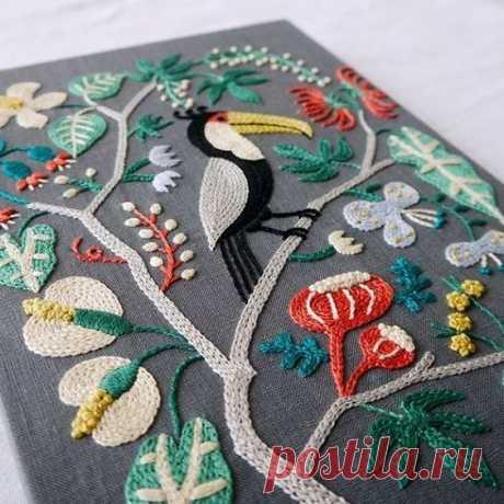 (6) Gallery.ru / Фото #1 - Вышитые птички - bird-of-heart