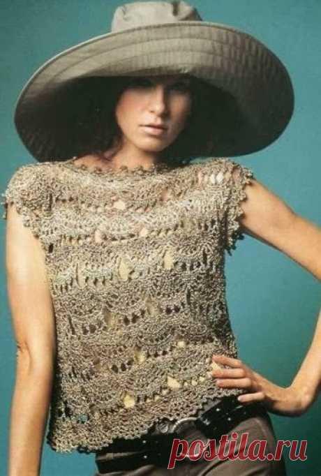 Ivelise Hand: Блузки красиво И Легко