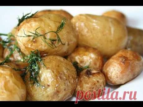Печеная картошка с беконом в аэрогриле