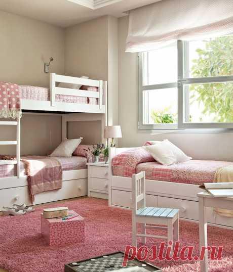 Варианты оформления детской комнаты