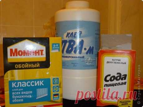 Мой рецепт холодного фарфора. | Страна Мастеров