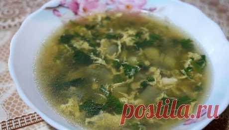 Весенний витаминный суп из крапивы