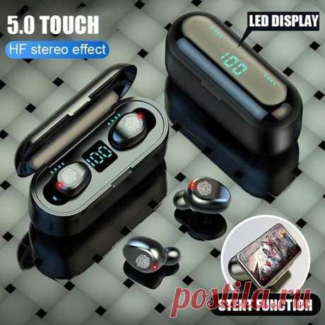 H & A беспроводные Bluetooth V5.0 наушники