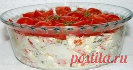 Салат «Красная Шапочка» уже переплюнул оливье и шубу!