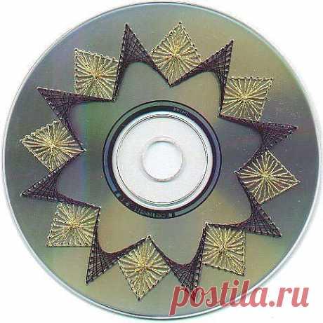Сувениры из ненужных CD- и DVD