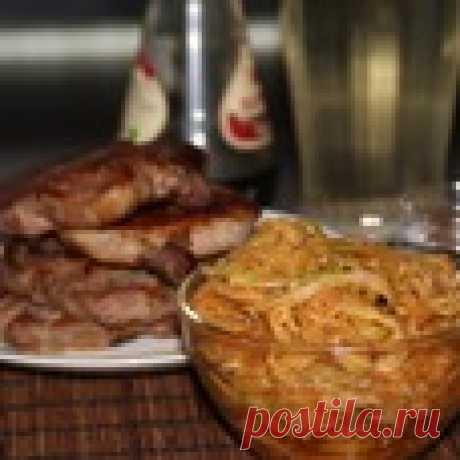 """Кабачки маринованные """"Спагетти"""" Кулинарный рецепт"""